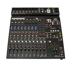 Peavey PV 14 AT Pro Audio Mixer with Bluetooth and Antares Auto-Tune Guitar Cable, Pa Speakers, Professional Audio, Phantom Power, Studio Setup, 4 Channel, Mixers, Cool Tools, Consumer Electronics