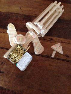 Gatling Rubber Band Machine Gun - Easy Weekend Project More