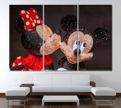 Mickey Mouse Mickey print Disney art Disney canvas Minnie Mouse Art Disney photo Disney poster Disney wall art Nursery wall art Nursery Art by ArtWog Disney Wall Art, Disney Canvas, Office Wall Decor, Home Decor Wall Art, Nursery Prints, Nursery Wall Art, Surf Decor, Canvas Home, Canvas Art