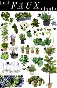 43 Best Faux Plants Images Artificial