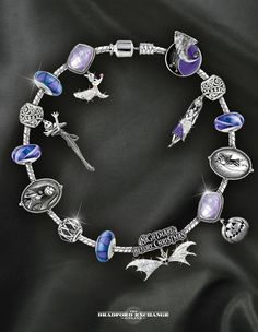 Relive Tim Burton's The Nightmare Before Christmas with this spookily stylish bracelet.