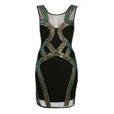 Embellished dress,, Miss Selfridge