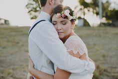 Gold Coast Backyard Wedding captured by Bek Grace - via ruffled