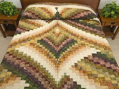 Lightning Strikes Quilt -- magnificent skillfully made Amish Quilts from Lancaster (hs5804)