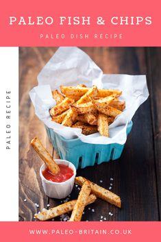 Paleo Fish & Chips  #Paleo #food #recipe #keto #diet 