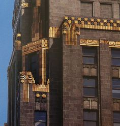 Samples from AMERICAN ART DECO by Carla Breeze Union Carbide Carbon Building