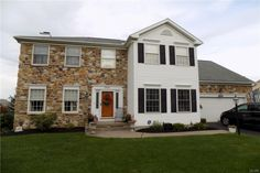 2405 Sheffield Dr, Easton, PA 18040 Eat In Kitchen, Sheffield, Colonial, Mansions, House Styles, Outdoor Decor, Home Decor, Manor Houses, Villas