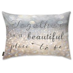 Mercer41 Beautiful Place to Be Lumbar Pillow
