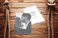 #Love Photo Wedding Invite Invitation Save The Date Forehead #Kiss www.fortheloveofstationery.com #savethedate #weddings