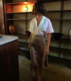 French girls wearing leopard print