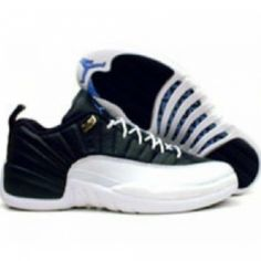 nike Ken Griffey chaussures max 1 - Mens Air Jordan 12 Retro Basketball Shoes Top Real Leather Black ...