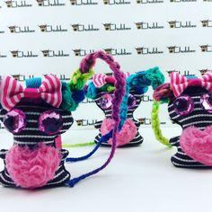 Snazberry, Chubbee, Mini keychain, Kawaii, Plush Stuffed Creature, Handmade by LondonsKingdom on Etsy