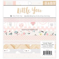Crate Paper Little You Girl Paper Pad 6x6