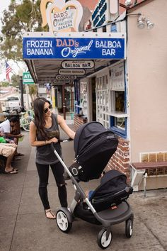 Mama Cruisin' (Stokke Stroller Review)