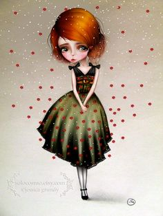 'Lainey' - Jessica Grundy 2012    www.solocosmo.etsy.com