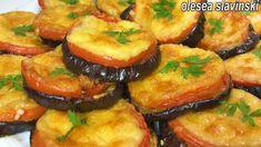 Η πιο νόστιμη συνταγή μελιτζάνας! Δεν θα τηγανίσετε ποτέ μελιτζάνα ξανά! Veggie Dishes, Savoury Dishes, Vegetable Recipes, Vegetarian Recipes, Cooking Recipes, Eggplant Dishes, Eggplant Recipes, Yummy Appetizers, Appetizer Recipes