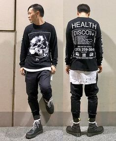 Get this look: http://lb.nu/look/8843175  More looks by ★masaki★: http://lb.nu/user/5916669-masaki  Items in this look:  Health Disco3, H&M Layer, Ch. Jogger, Dr. Martens Limited 10hole   #street #alternative #avantgarde #edgy #urban #modern #trendy #casual #rock