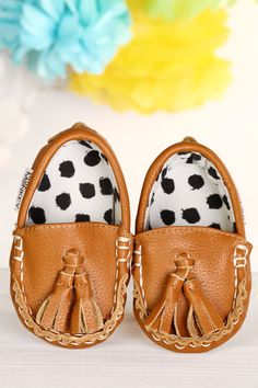 Don't Have a Cow... ~ Genuine Leather & Fabric Little Monkey Moccasins – Funky Monkey Fashion Accessories