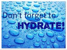 Hydrate! -Rain droplets
