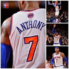 Carmelo drops a franchise record 62 points at Madison Square Garden in NY.