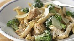 """Healthified"" Chicken and Broccoli-Parmesan Pasta"