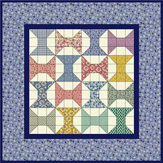 Little Spools Quilt Pattern