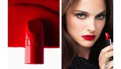 Natalie Portman for Rouge Dior Campaign   FashionMention