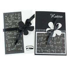 Mustavalkoiset kortit ovat aina tyylikkäitä! Toki valikoimissamme on runsaasti myös värillisiä korttipohjia. Handmade Cards, Gifts, Falling Down, Cards, Craft Cards, Presents, Favors, Diy Cards, Gift