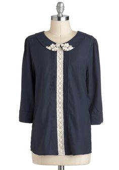 Maven of Modesty Top, #ModCloth