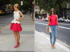 2013 fashion review: Peplum. Great feminine cut that is versatile and suits bodies of all shapes and sizes.