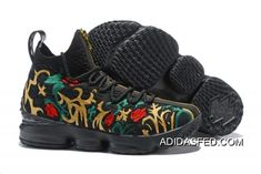 new arrival 6fdcb d41af Kith X Nike LeBron 15  Long Live The King  Black Gold Discount