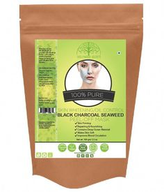 Buy Organic Black Seaweed Powder Peel Off Mask For Skin Whitening & Oil-Controlling & Pollution Resisting ✔ Contains deep ocean minerals which are beneficial for skin and body. ✔ It acts as an anti-allergen and an oil-controlling facial mask. ✔ It whitens skin deeply and locks the moisture in the cuticle.  ✔ Whitens the skin. #BlackSeaweedPowder #FaceMaskForWrinkles #CharcoalMaskBenefits