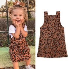 Perfect outfit for your little fashionista. Let her wear this cute leopard dress and let her be the talk of the town. Little Fashionista, Leopard Dress, Spring Collection, Infants, Spring Time, Bliss, Spanish, Ootd, Fun