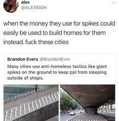 - ̗̀ @stxney ̖́ -   (Yes fuck cities like this, the world would be a better place if we helped each other and took time to understand each other instead of assuming and critiquing each other )