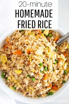 Rice Side Dishes, Vegetable Dishes, Food Dishes, Main Dishes, Side Dish Recipes, Asian Recipes, Dinner Recipes, Healthy Recipes, Chinese Recipes