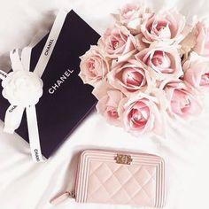 Very little is needed to make a happy life 🎀 Happy Life, Gym Workouts, Beautiful Pictures, Roses, Chanel, Tote Bag, How To Make, Pink, Bags