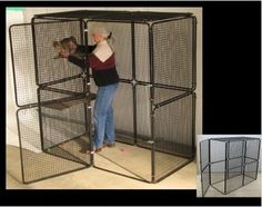 Indoor Cat Cages Enclosures for 2020 - Ideas on Foter Indoor Cat Enclosures, Diy Cat Enclosure, Outdoor Cat Enclosure, Ferret Cage, Pet Cage, Hamster Cages, Cat Cages Indoor, Cool Cat Beds, Cat Kennel