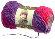 Amazing Yarn, Ruby and Cobblestone