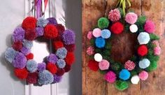 hygge home interiors Homemade Christmas Decorations, Christmas Diy, Christmas Wreaths, Merry Christmas, Holiday Decor, 4th Of July Wreath, Dream Catcher, Projects To Try, Knitting
