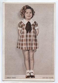 dress Shirley Temple