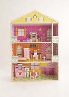 Doll House: Fortune East Giant 3Story Dollhouse -- Check this awesome product by going to the link at the image.
