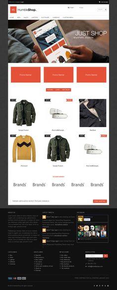 Humbleshop, PrestaShop Minimal Clothing Store Theme