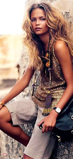 Boho Chic ~ Butterfly Kisses at the Beach