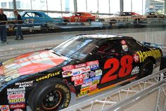 NASCAR Hall of Fame: Davey Allison's Havoline Star #28