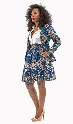 latest and the best women's fashion in skirt. African Inspired Fashion, African Print Fashion, Africa Fashion, Fashion Prints, African Print Dresses, African Fashion Dresses, African Dress, Nigerian Fashion, Ghanaian Fashion