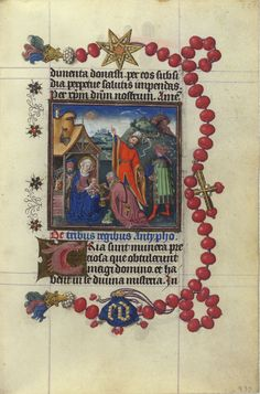 Adoration of the Magi | Hours of Catherine of Cleves | Illuminated Manuscript | ca. 1440 | The Morgan Library & Museum