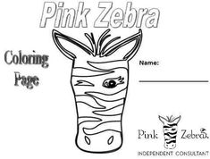 Pink Zebra Party, Pink Zebra Sprinkles, Pink Zebra Consultant, Coloring Pages, Printable Calendars, Crafts, Preschool, Parties, Events