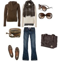 Earthy, created by #shellyontour on #polyvore. #fashion #style The North Face American Vintage
