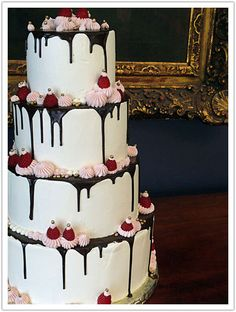 Top Fruit Wedding Cakes 2