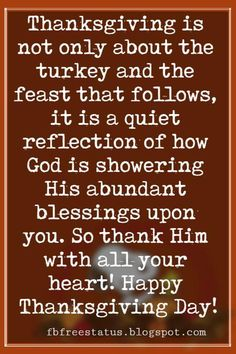 Happy Thanksgiving Messages To Friends And Family
